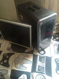 Pc com Intel Pentium, 2 Gb de Ram(Expansível), HD de 500 Gb, e monitor de 17 plgds