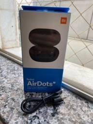 Fone de Ouvido Xiaomi Redmi AirDots S Lançamento 2020 Bluetooth