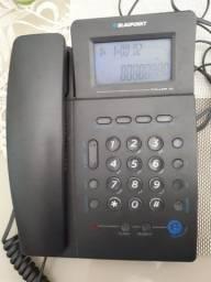 <br><br>Telefone com fio blaupunkt com identificador de chamadas