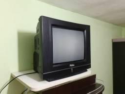 """TV """"14"""" com receptor R$ 200,00"""