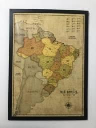 Pôster Brasil Vintage