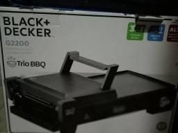 Estufa Edanca e Chapa Black Decker na caixa