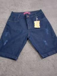 Vendo bermuda jeans feminina