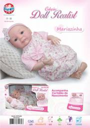 Boneca Bebê Mariazinha 43cm