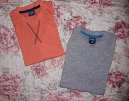 Camisas novas masculinas infantis