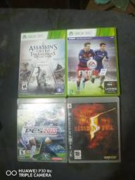Vendo esses 4 jogos originais