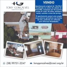 Apartamento original localizado no centro da cidade de Unaí/MG