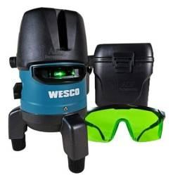 Nível auto nivelador a Laser  Wesco 5 linha
