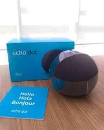 Alexa Echo Dot (4ª Geração): Smart Speaker - Cor Preta