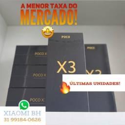 ÚLTIMAS UNIDADES! POCO X3 128GB / Novo Lacrado Garantia / Versão GLOBAL