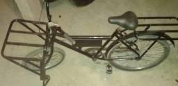Bicicleta de carga para trabalhar