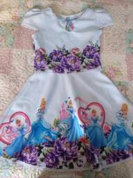 Vestidos Infantis de Neoprene