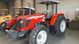 Trator Massey Ferguson 4275 4x4 ano 12/13 completo original semi novo