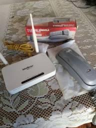 Vendo Roteador Intelbrás e telefone gôndola