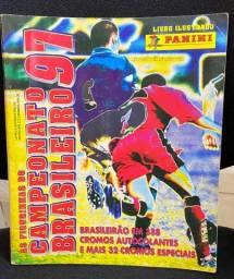 Álbum figurinhas Campeonato Brasileiro 1997