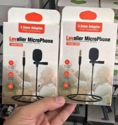 Microfone Lapela P2 para Vídeos e Audios, Novos A Pronta Entrega