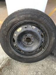 Roda de ferro 14 c/ pneu (estepe)