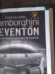 Lamborghini reventon rádiocontrolada com motor esplosão