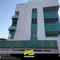 Apartamento com 2 dormitórios para alugar, por R$ 1.250/mês - Jardim Oceania - João Pessoa