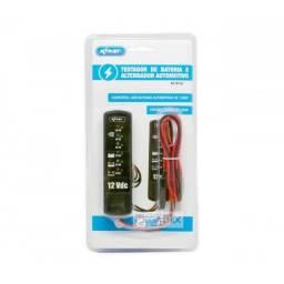 Testador de bateria e alternador knup kp-bt02.