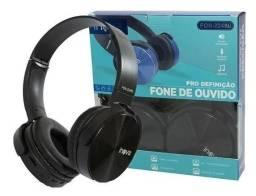 Fone Ouvido Headphone Sem fio Bluetooth Fm P2