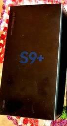 1 caixa original Samsung S9+