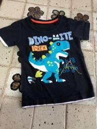 Camisa DINO 3 anos
