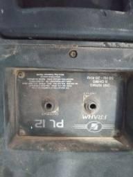 Vendo duas caixas acústicas FRAN PL 12 Usadas e uma corneta usada