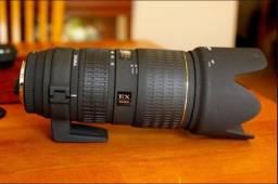 Lente 70-200mm EF:2.8 Sigma para Cânon