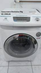 Lava e seca Electrolux 9kg (Boleto, cartão e cheque)