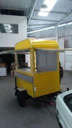 Trailers e carrinhos comerciais fabrica 1,70