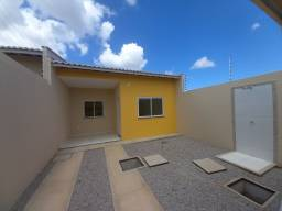 JP casa nova de 3 quartos 2 banheiros em rua asfaltada e do lado da sombra