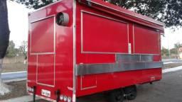 Treilher simples 4,00 para lanches açai sorvete food truck Minas Treilher Fábrica