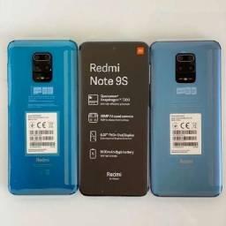 Note 9s 64 GB/4GB Ram Cinza/Azul Leia na Descrição