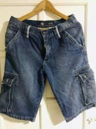 Vendo bermuda jeans masculina Adji