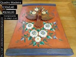 Quadro Artesanal Madeira