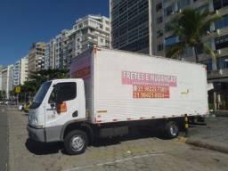 Fretes e Mudanças caminhão baú