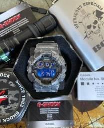 Casio G-Shock Camuflado GD-120CM-8DR Aceito Trocas