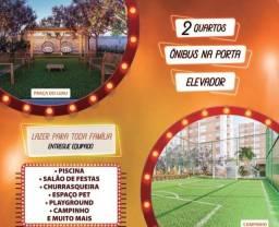 Apartamento em Candeiais,elevador,2quartos,45m²,lazer e 1 vaga