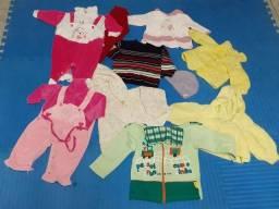 Super Lote  roupas de Bebê Inverno - Tamanho 1 Ano