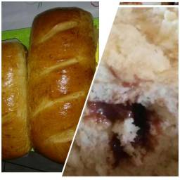 Cucas Recheadas e pães caseiros