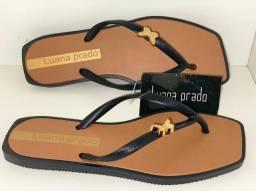 Sandália direto da fábrica no atacado Luana Prado lançamento