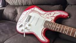 Guitarra Stratocaster personalizada por luthier