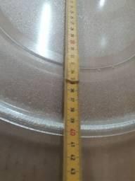 Prato de forno micro-ondas usado raridade
