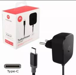 carregador motorola turbo power 30+ usb c tipo c