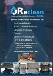 Título do anúncio: Reclean moc Limpeza e higienização de estofados