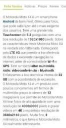 Barbada Motorola moto X 4