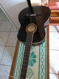 Vendo violão preto