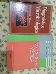 Livro de Diagnóstico Microbiológica Finegold + Micologia Médica