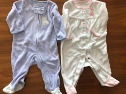 Pijamas bebê